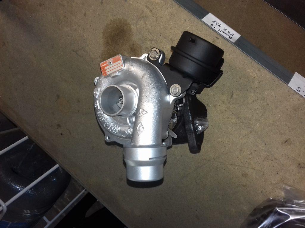 Reparación y ajuste de flujometría turbo Renault K9K 1.5DCI