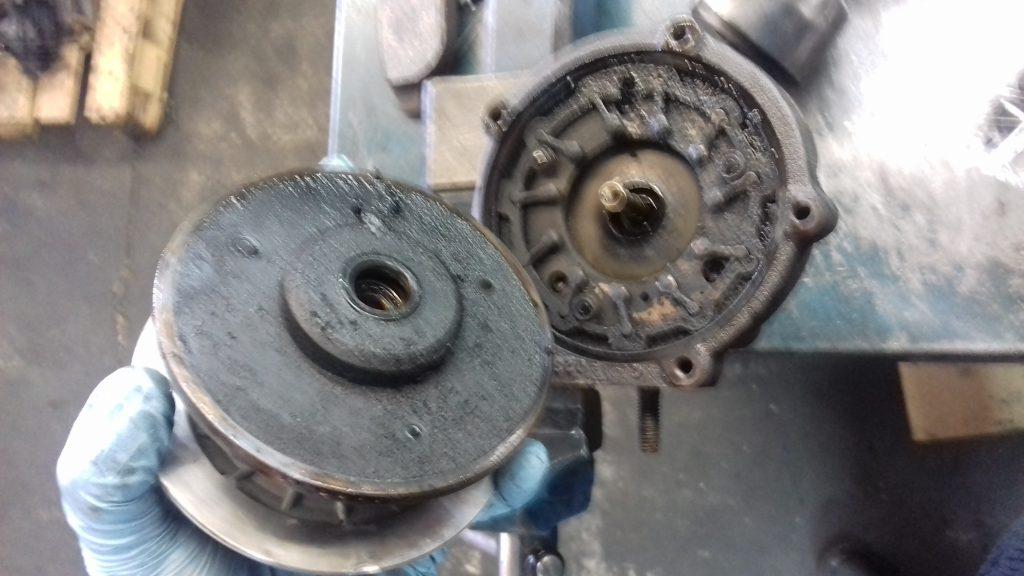 Rotura de eje turbo por falta de engrase