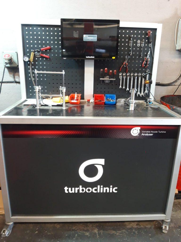 Banco de turbo turboclinic